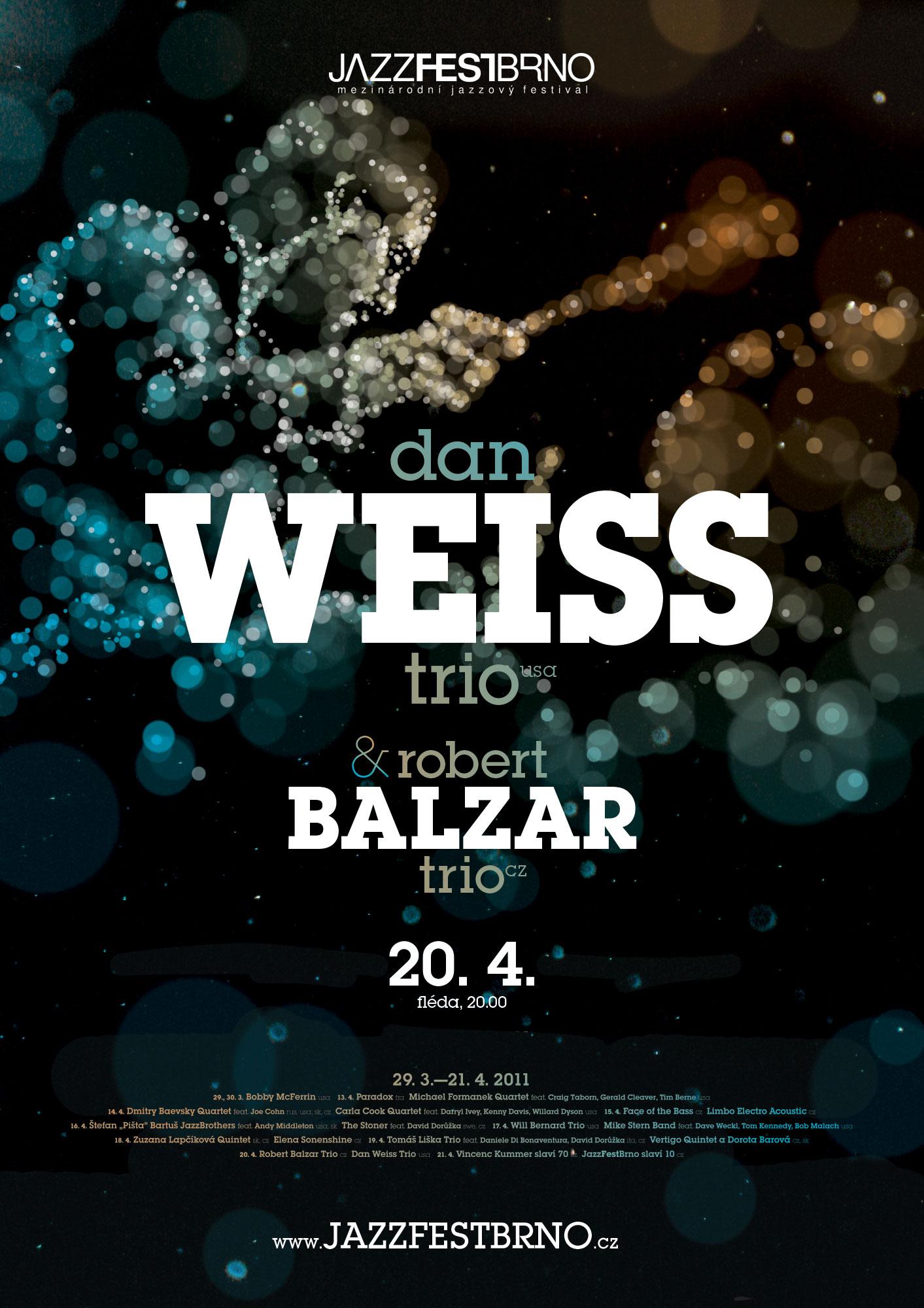 JazzFestBrno 2011 – Dan Weiss