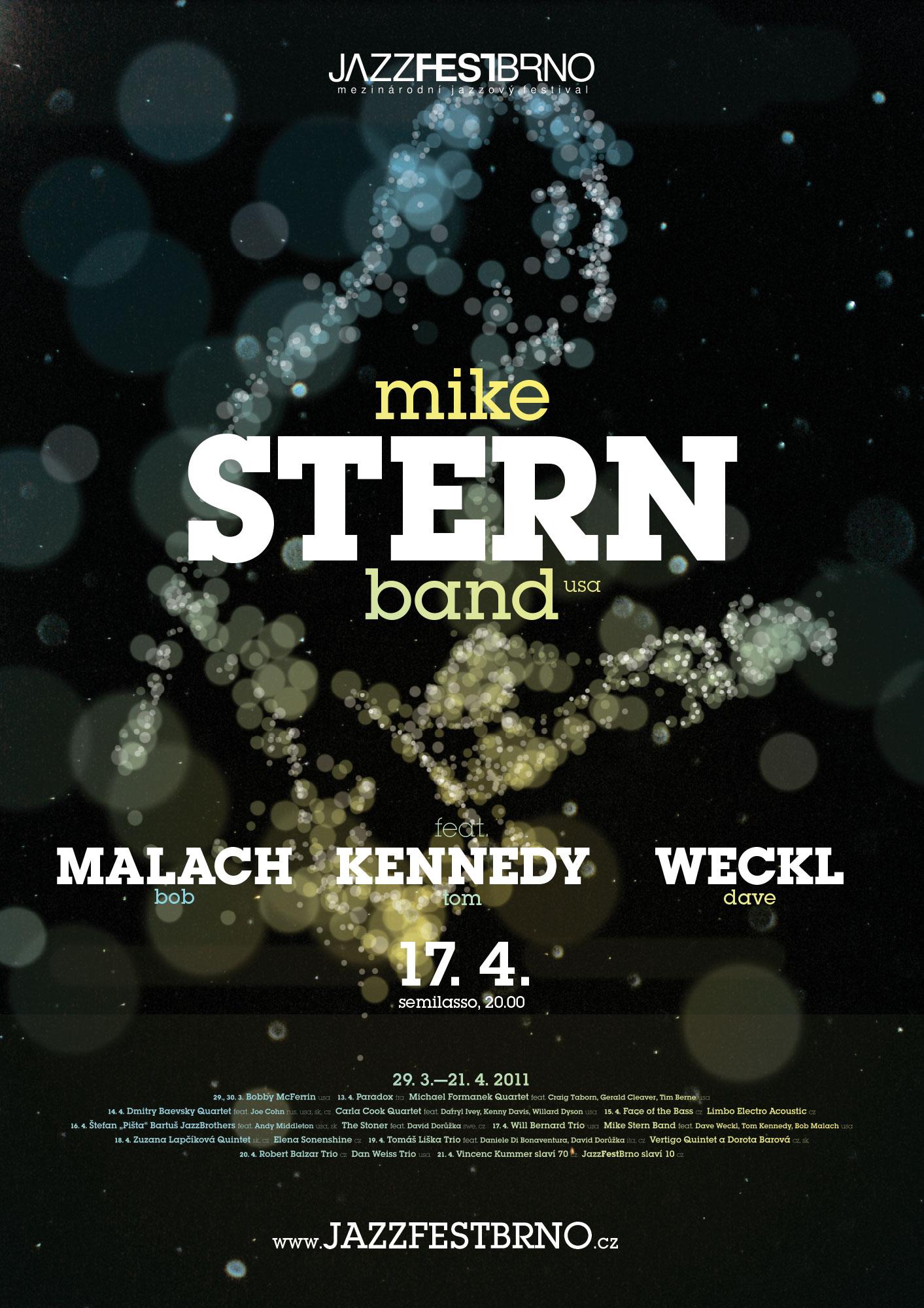 JazzFestBrno 2011 – Mike Stern