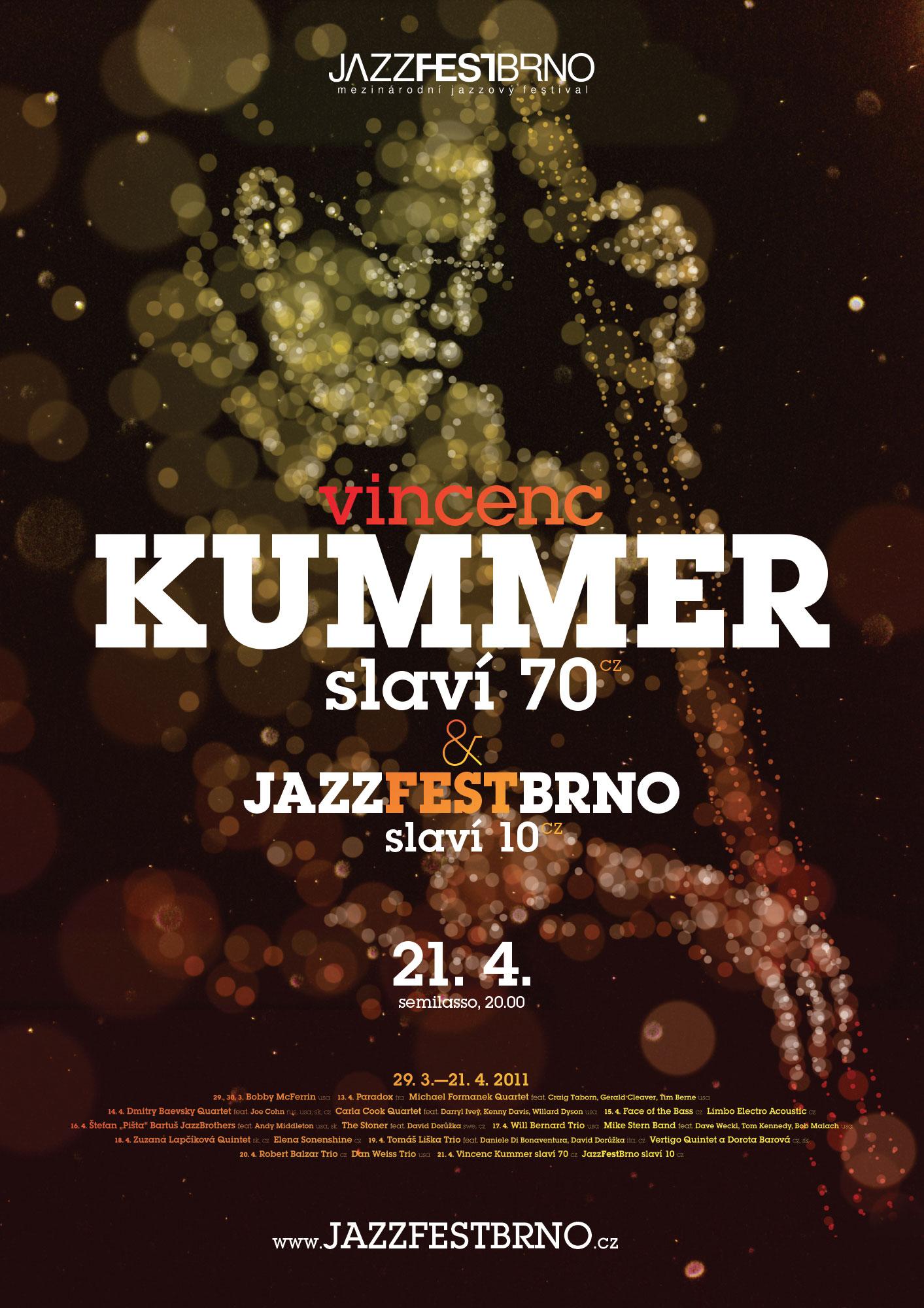 JazzFestBrno 2011 – Vincenc Kummer
