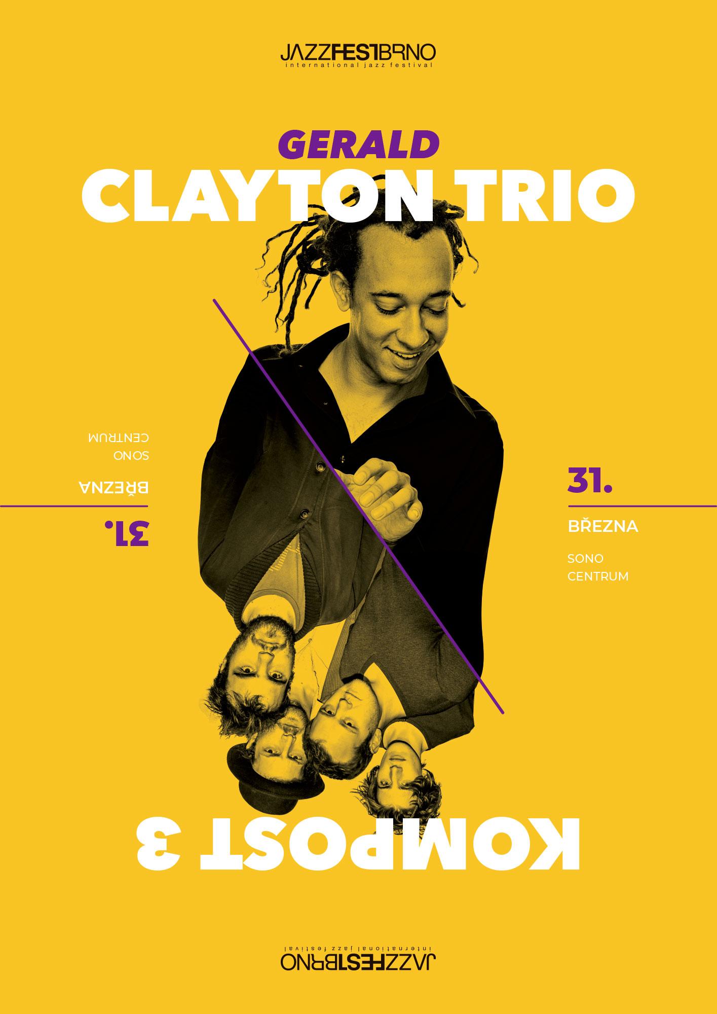 Jazzfestbrno 2015 - Gerald Clayton Trio & Kompost 3