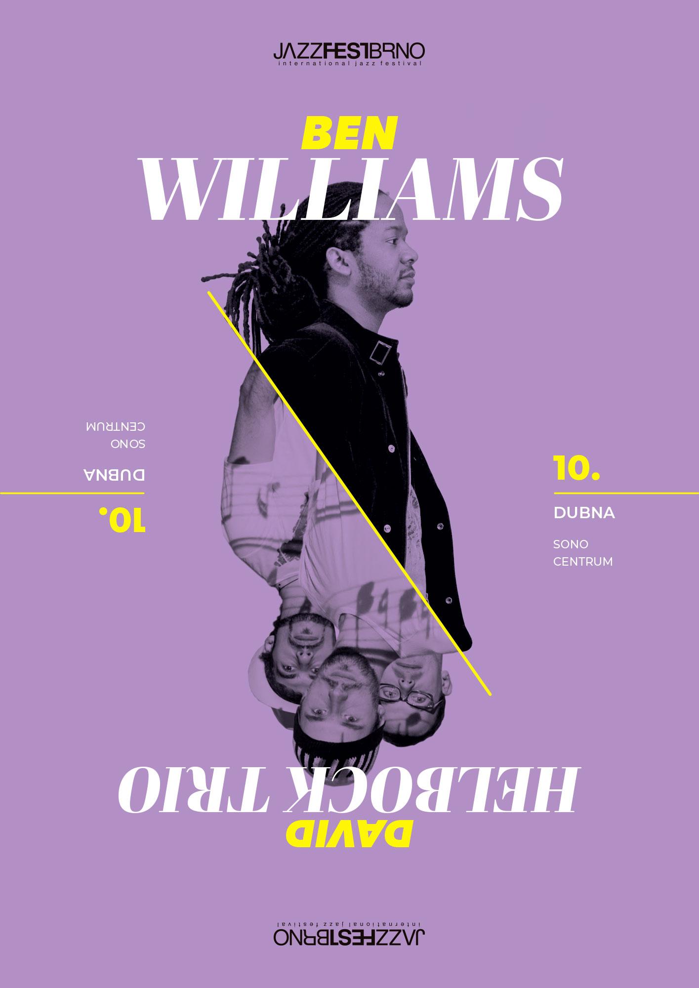 Jazzfestbrno 2015 - Ben Williams & David Helbock Trio