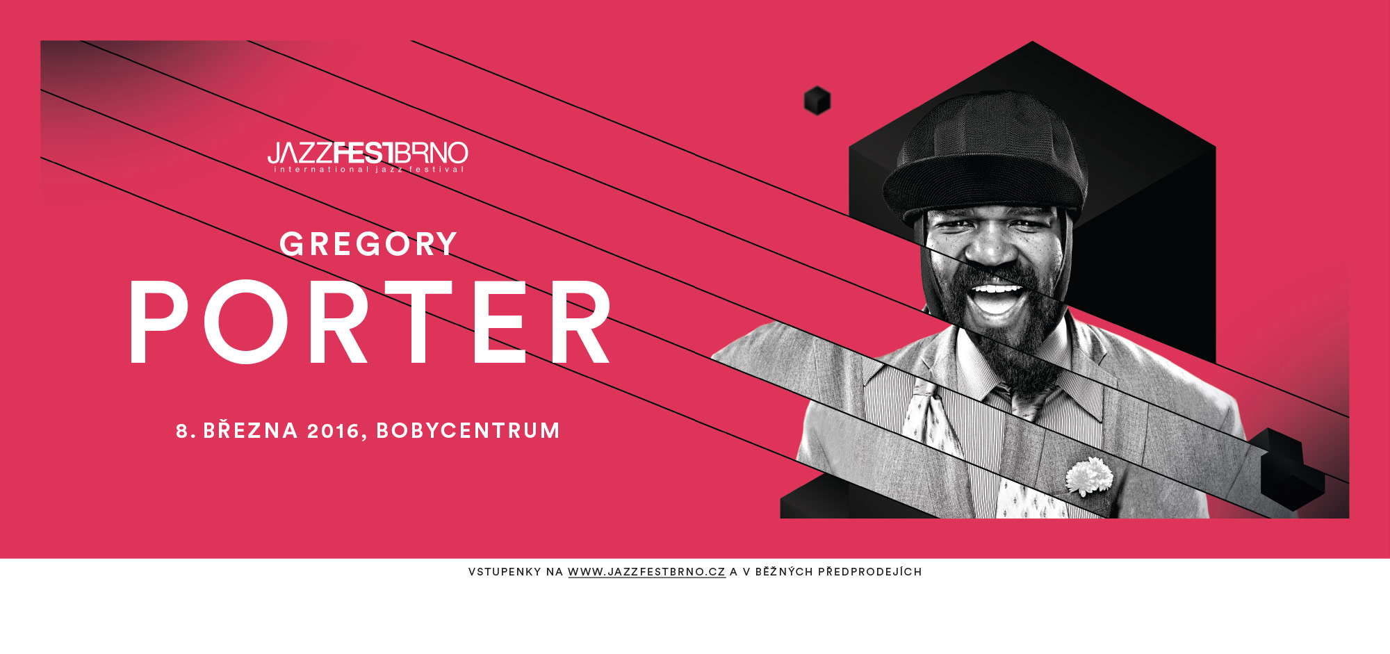 Jazzfestbrno 2016 - Gregory Porter