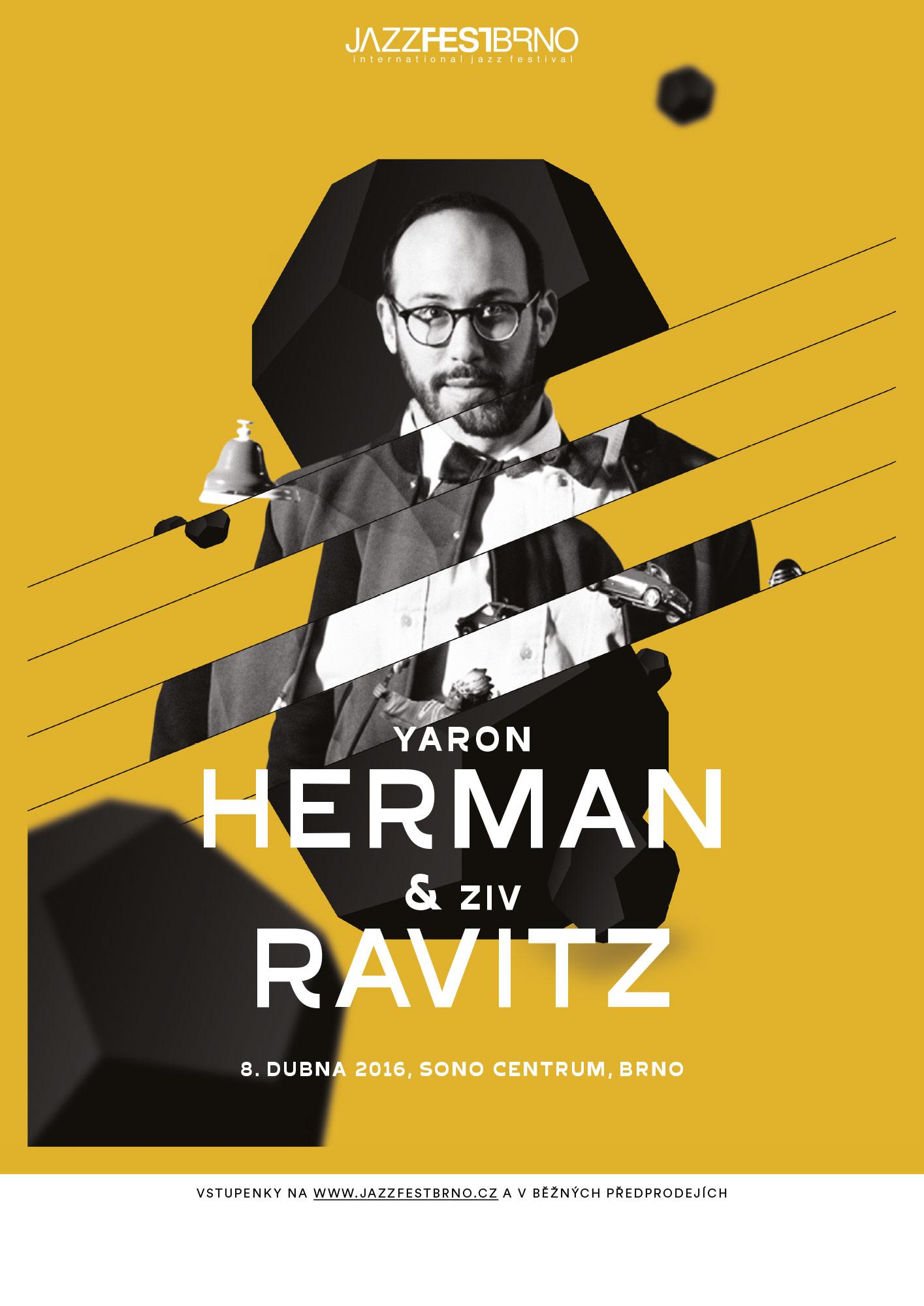 Jazzfestbrno 2016 - Yaron Herman & Ziv Ravitz