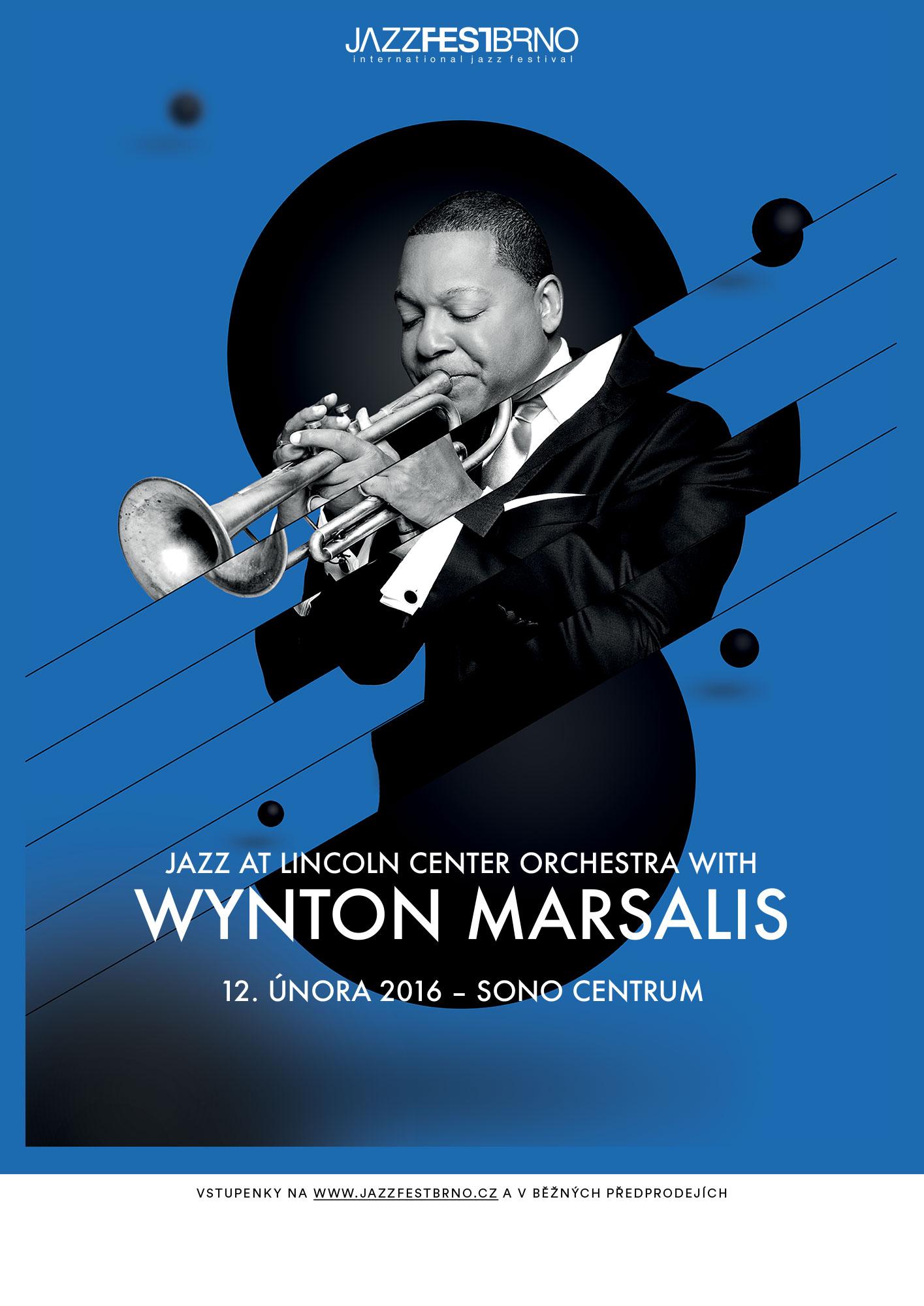 Jazzfestbrno 2016 - Wynton Marsalis