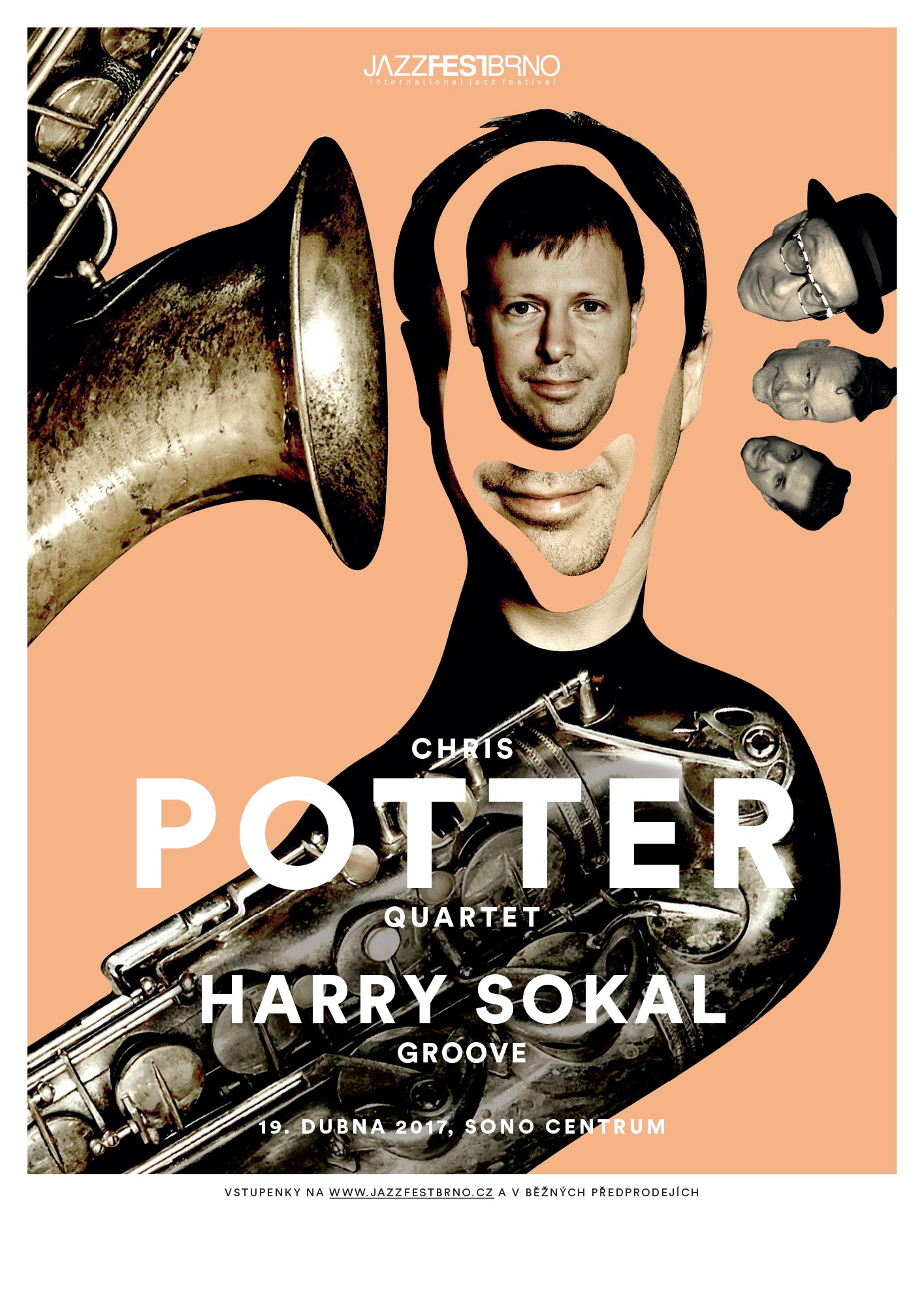 Jazzfestbrno 2017 - Chris Potter a Harry Sokal Groove