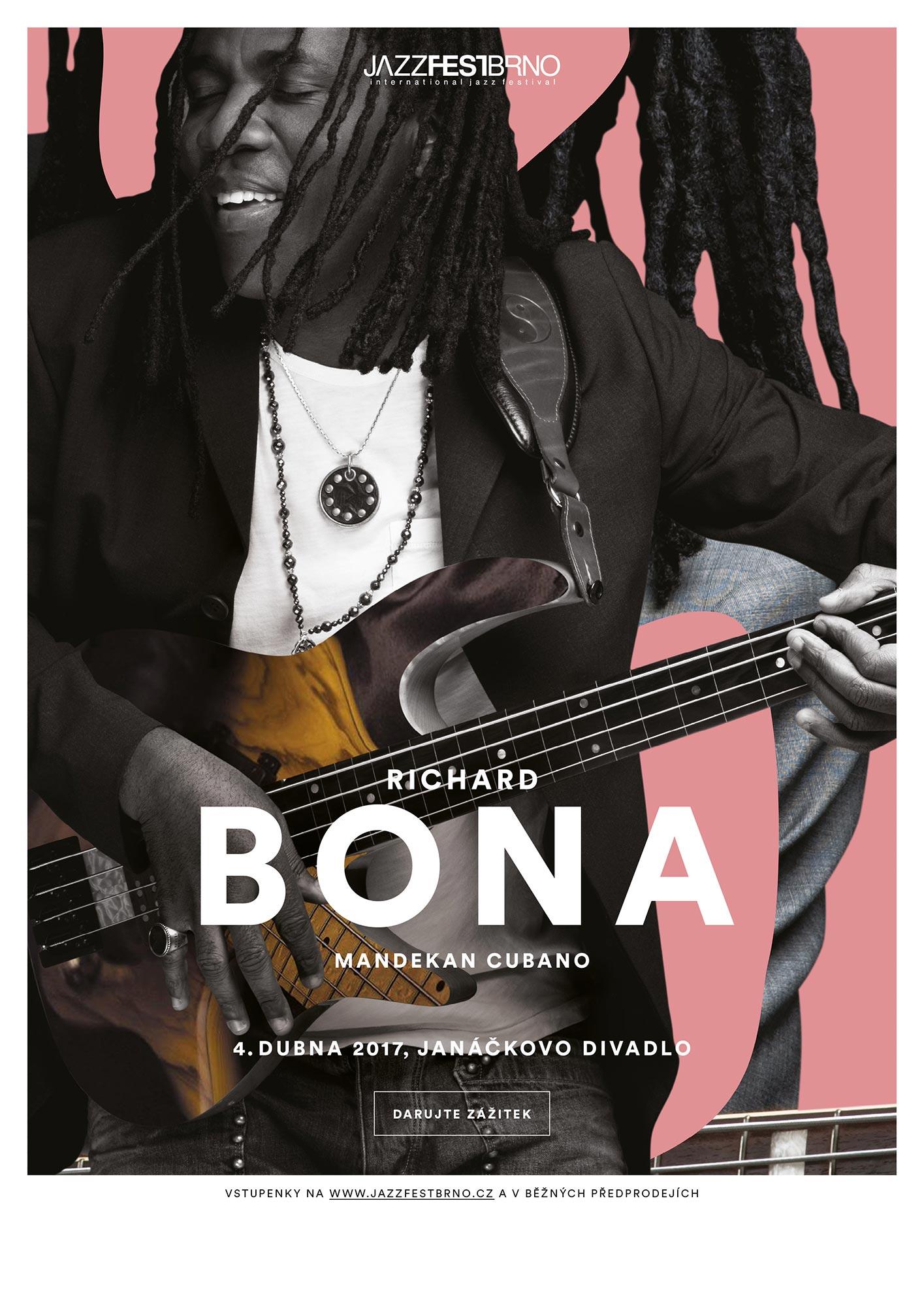 Jazzfestbrno 2017 - Richard Bona Mandecan Cubano