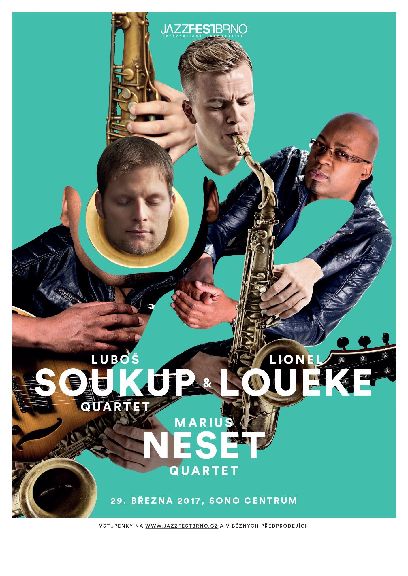 Jazzfestbrno 2017 - Soukup, Loueke, Neset