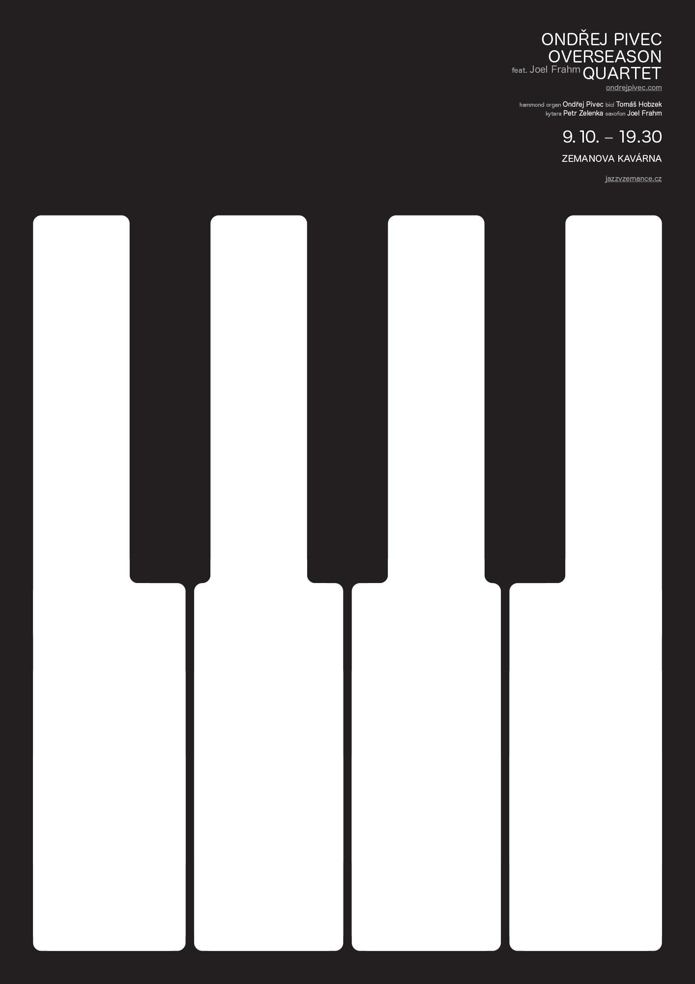 Jazz v Zemance – Ondřej Pivec