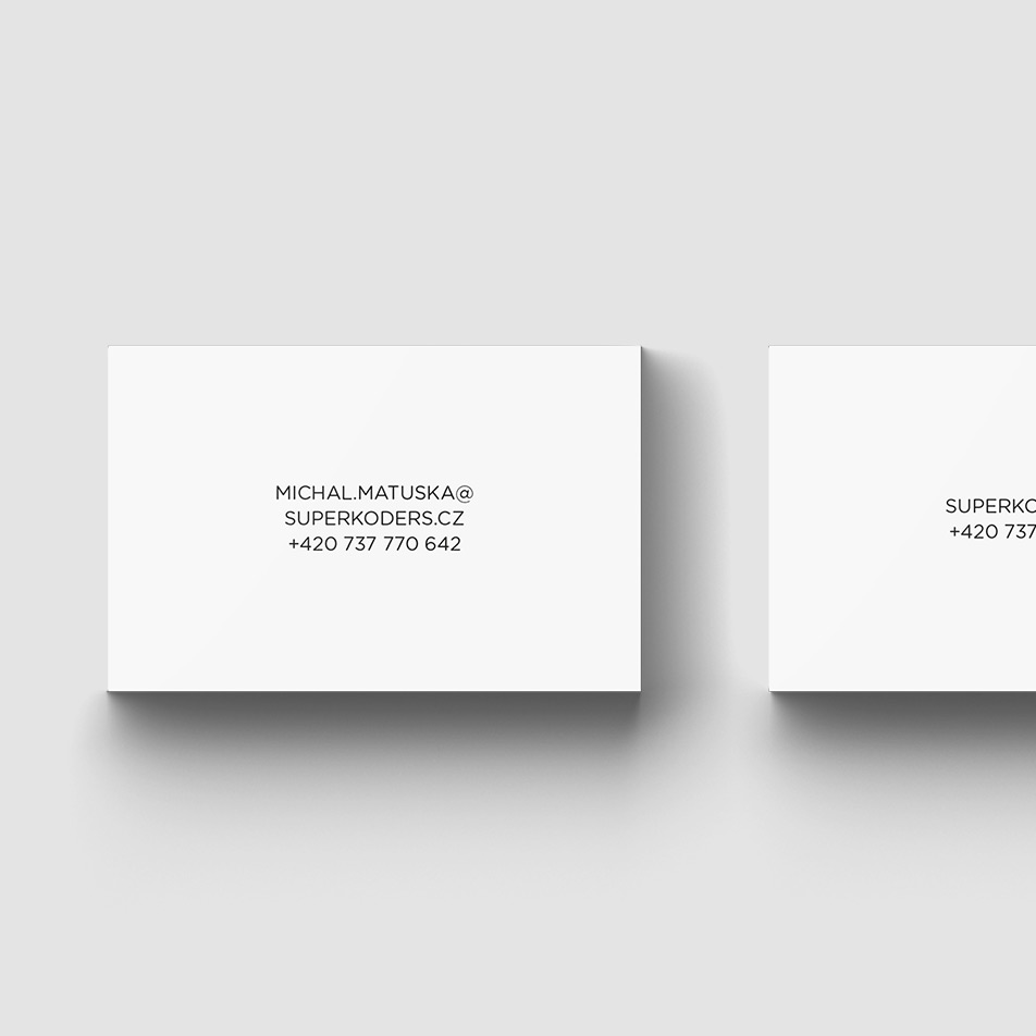 Superkoders business card