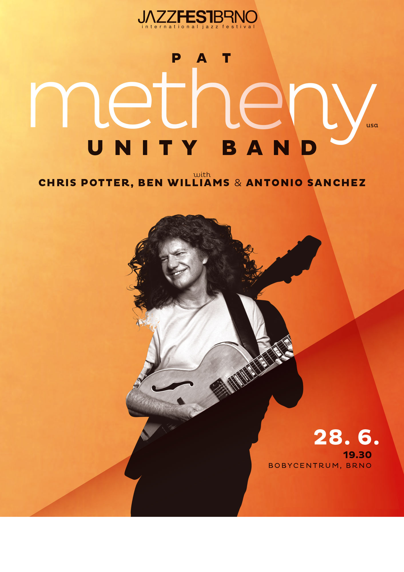 JazzFestBrno 2012 – Pat Metheny