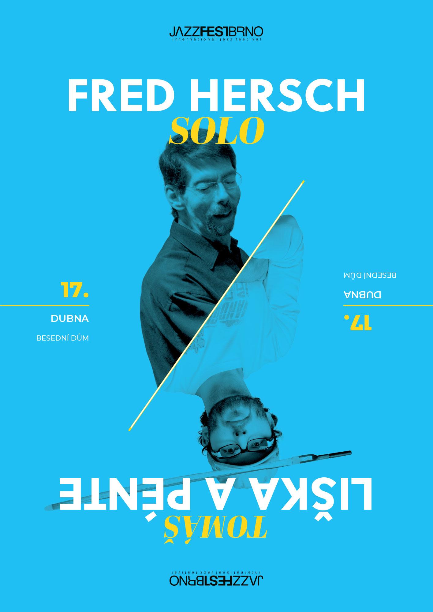 Jazzfestbrno 2015 - Fred Hersch Solo & Tomáš Liška a Pénte