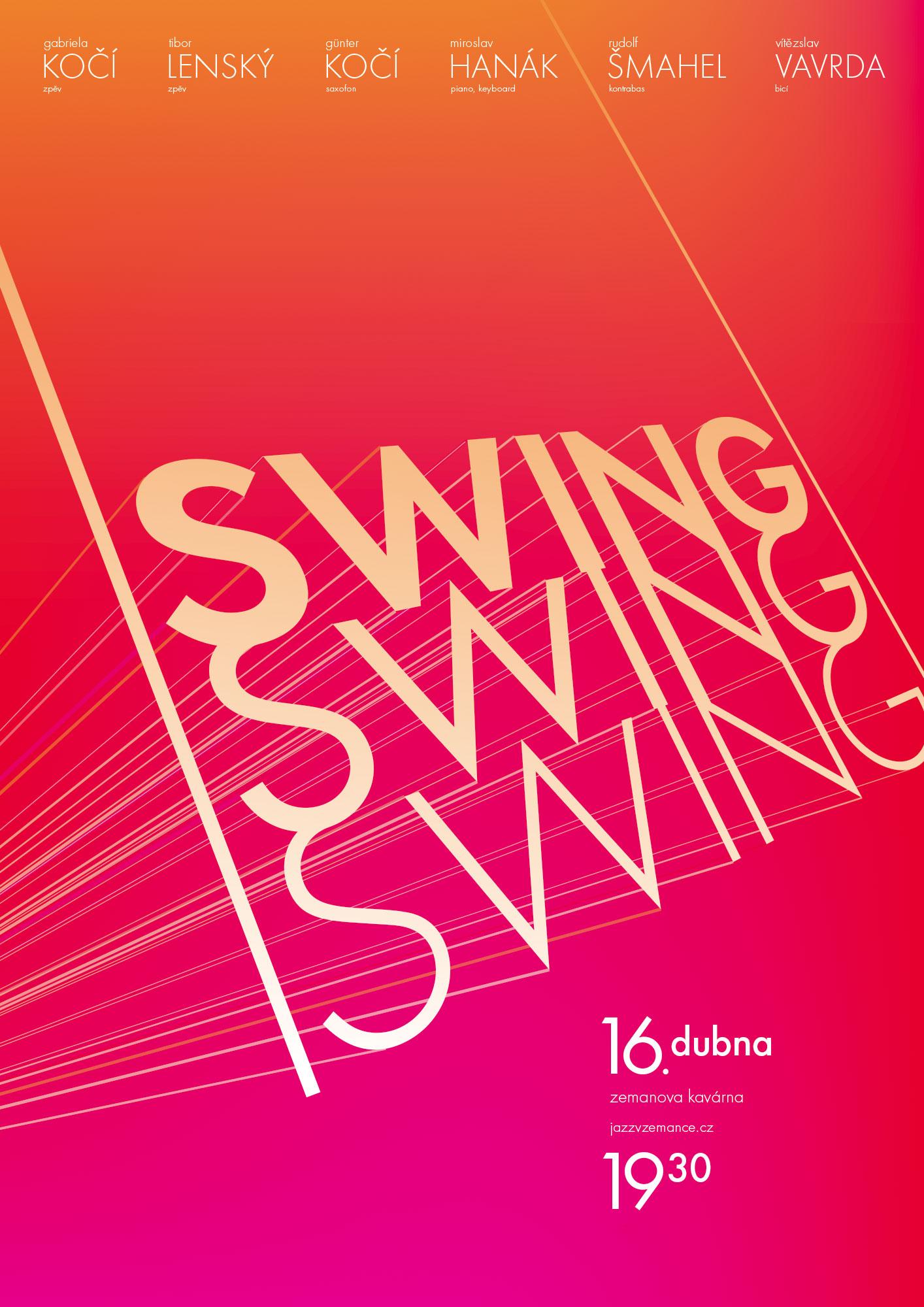 Jazz v Zemance – Swing Swing Swing
