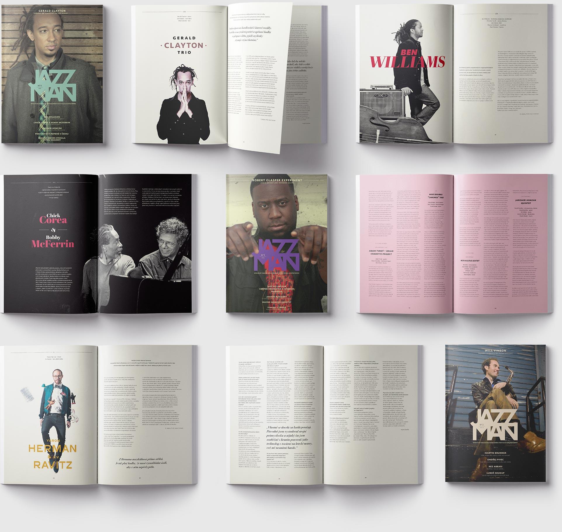 Festival Magazine – Jazzman