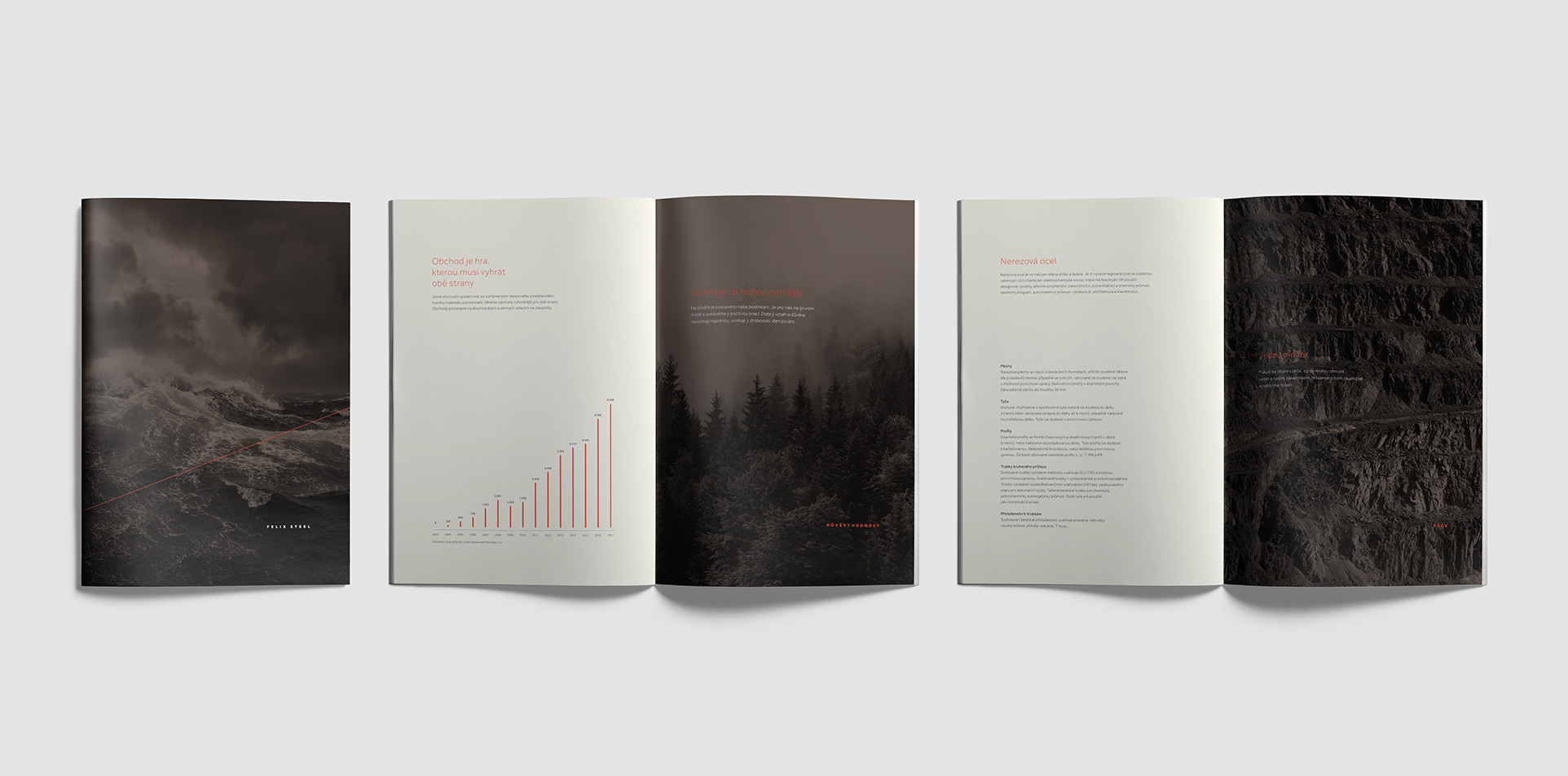 Felix Steel brochure