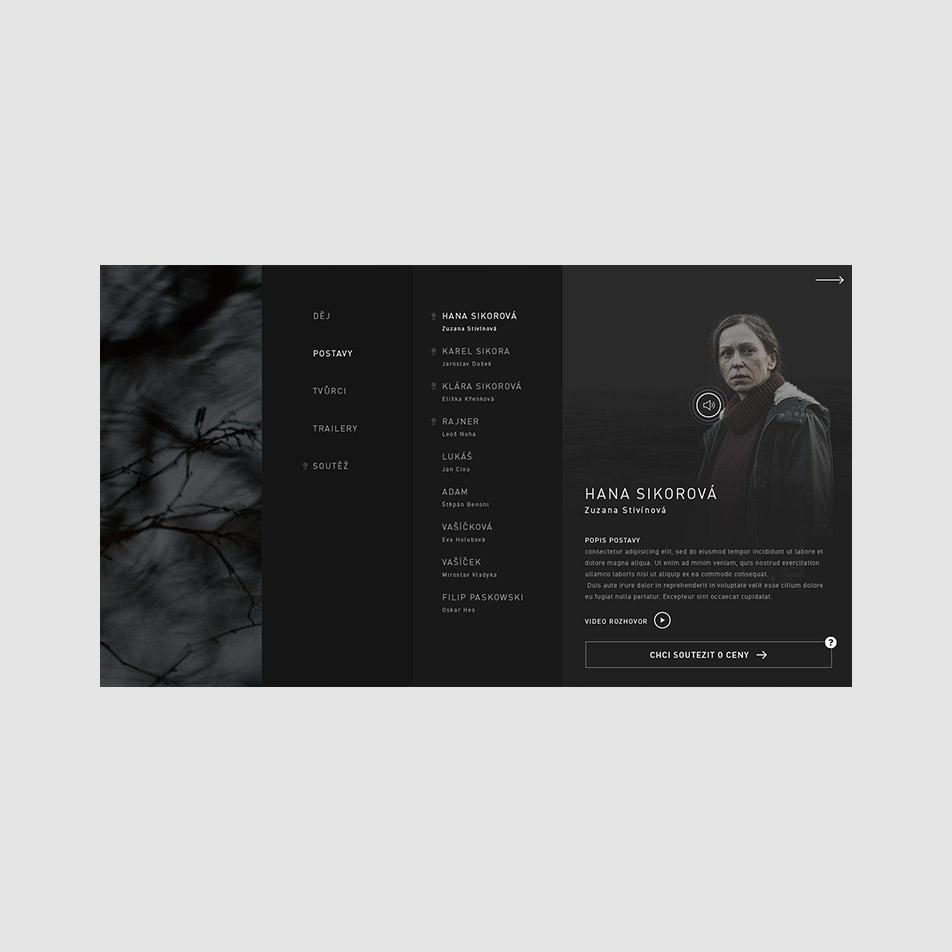 Pustina web desktop